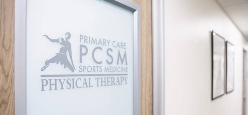 Physical Therapy Entry Door