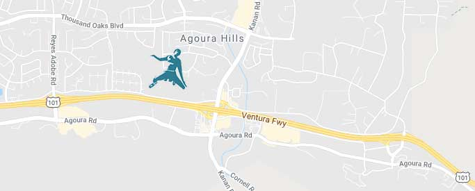 Agoura Hills Office Map